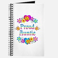 Proud Auntie Flowers Journal