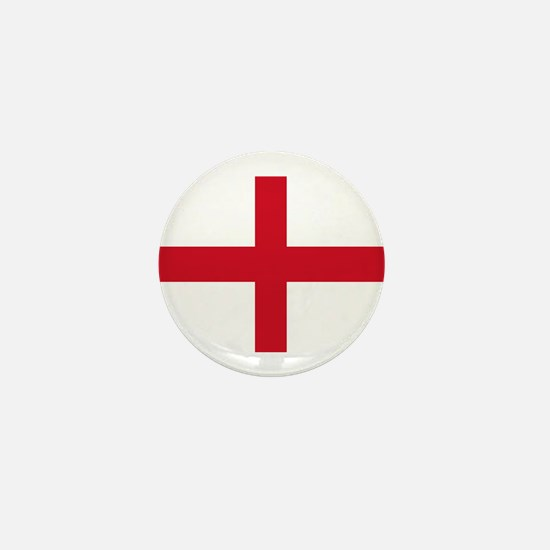 St George Cross England flag Mini Button