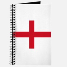 St George Cross England flag Journal