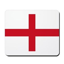 St George Cross England flag Mousepad