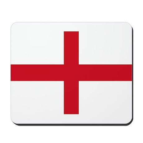 St George Cross England flag Mousepad