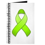 Lime Awareness Ribbon Journal