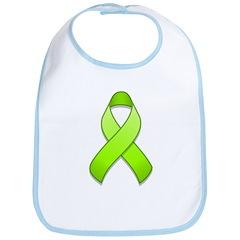 Lime Awareness Ribbon Bib