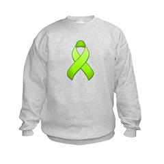 Lime Awareness Ribbon Sweatshirt