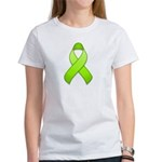 Lime Awareness Ribbon Women's T-Shirt