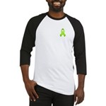 Lime Awareness Ribbon Baseball Jersey