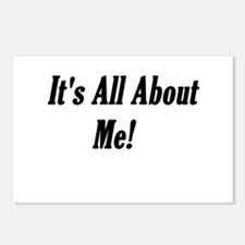 It's All About Me Attitude Postcards (Package of 8