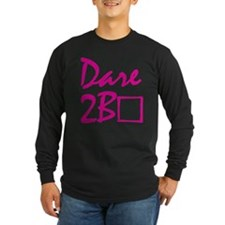 Dare to be square! (pink) T