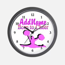 TOP CHEERLEADER Wall Clock