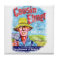 Cousin Elmer Tile Coaster
