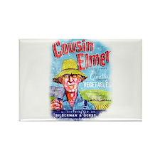 Cousin Elmer Rectangle Magnet