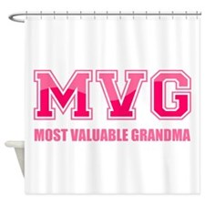 Most Valuable Grandma Shower Curtain