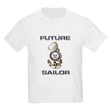 USN Navy Future Sailor Kids T-Shirt