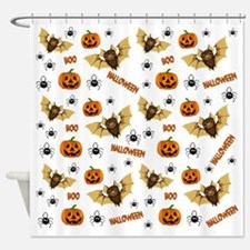 Cute Trick or treat Shower Curtain