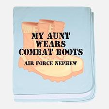 AF Nephew Aunt DCB baby blanket
