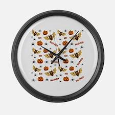 Unique Pumpkin Large Wall Clock