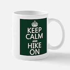 Keep Calm and Hike On Small Mug