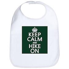 Keep Calm and Hike On Bib