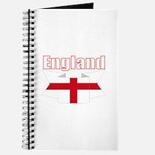 St George Cross England flag Journal