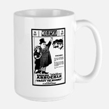 Fatty Arbuckle Crazy to Marry Large Mug
