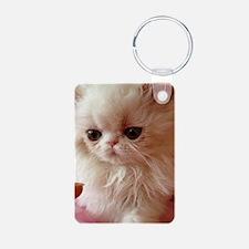 Baby Persian Kitten Keychains