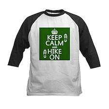 Keep Calm and Hike On Baseball Jersey