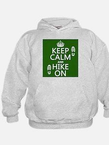 Keep Calm and Hike On Hoody