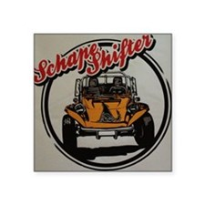 "Schape Shifter Kustoms Dune Square Sticker 3"" x 3"""