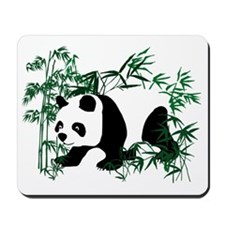 Panda in the Bamboo Forest Mousepad