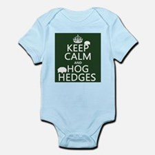 Keep Calm and Hog Hedges (hedgehogs) Body Suit
