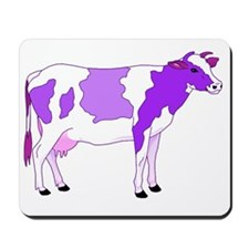 Did You Ever See a Pastel Purple Cow? Mousepad