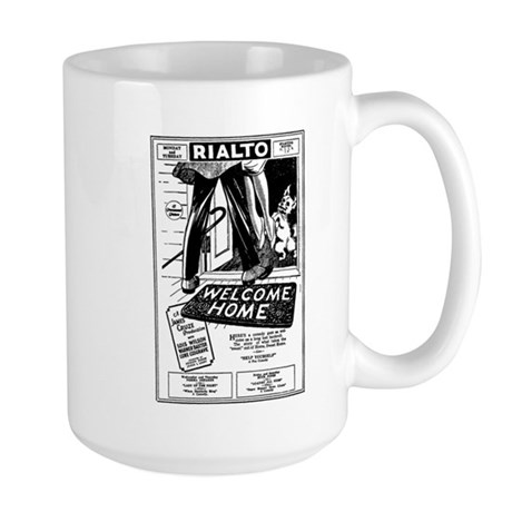 Welcome Home Movie Ad Large Mug