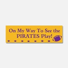 ECU Pirates Football Car Magnet Tailgating