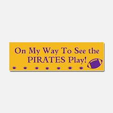 ECU Pirates Football Car Magnet Tailgating