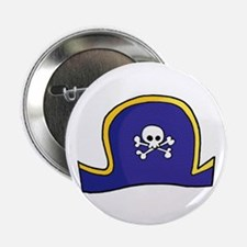 "Pirate Hat 2.25"" Button (10 pack)"