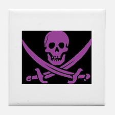Pirate Nation Tile Coaster