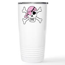 Girl Pirate Pirates ECU Travel Mug