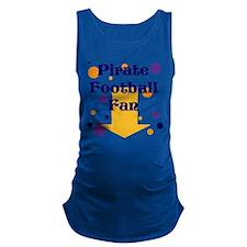 Pirate Football Maternity Tank Top