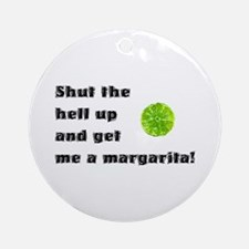 Get Me A Margarita Ornament (Round)