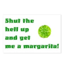 Get Me A Margarita Postcards (Package of 8)