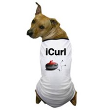 iCurl Dog T-Shirt