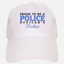 Officer's Father Baseball Baseball Cap