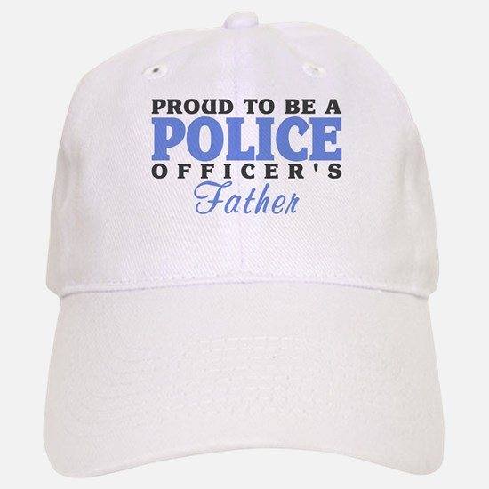 Officer's Father Baseball Baseball Cap