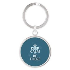 Keep Calm I'll Be There Keychains