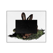 Colored Etching of Rabbit in the Gra Picture Frame