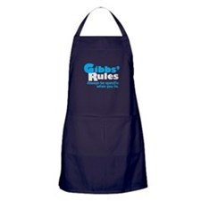 Gibbs Rule Specific When You Lie Apron (dark)