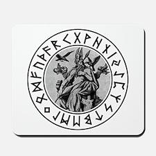 Odin Rune Shield Mousepad