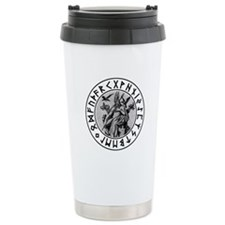 Odin Rune Shield Travel Mug