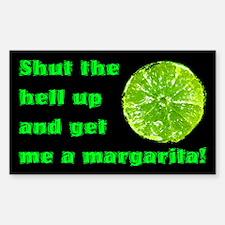 Get Me A Margarita Rectangle Decal