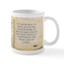 Herman Melville Historical Small Mug
